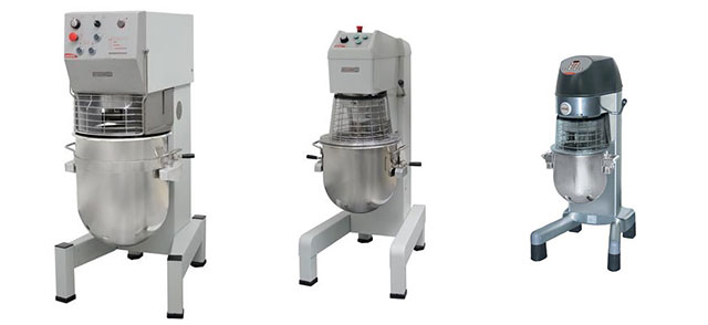 Planetary mixers from 30 to 80 liters